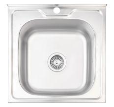 Кухонна мийка Lidz 5050 Decor 0,8 мм (LIDZ5050DEC08)