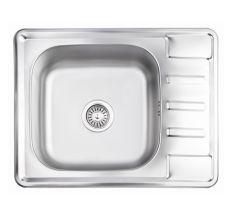 Кухонна мийка Lidz 6350 Satin 0,8 мм (LIDZ6350SAT8)