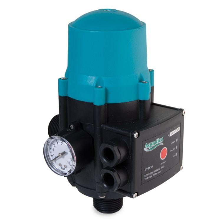 """Контролер тиску електронний Aquatica 779535 1.1кВт 1"""" рег тиску увімк 1.5-3.0 bar - 1"""
