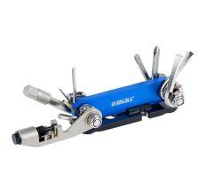 Велоключ 92мм 15в1+лопатка монтажная Sigma (4375631)