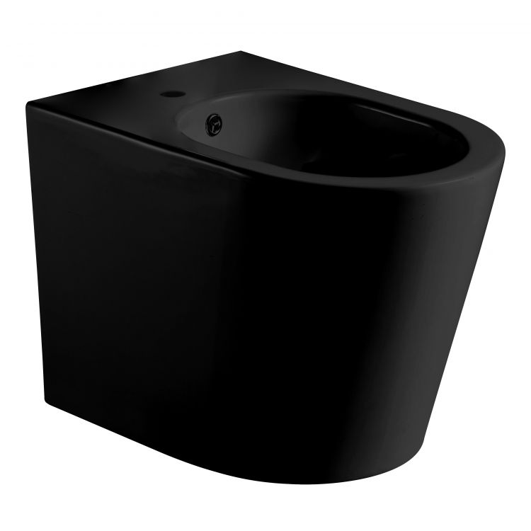 NEMO BLACK біде 53*36*39,5 см підлогове, матове - 1
