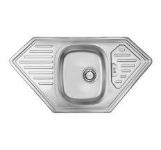 Кухонна мийка ULA 7801 Satin (ULA7801SAT08)