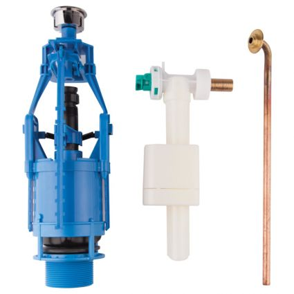 Зливний/наливний механізм для унітазу Azzurra Charme B19002F40 - 1