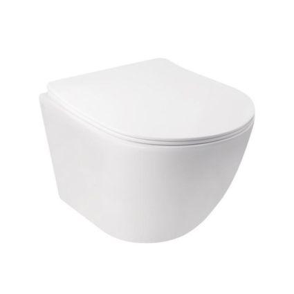Комплект Qtap інсталяція Nest QTNESTM425M11CRM + унітаз з сидінням Jay QT07335176W + набір для гігієнічного душу зі змішувачем Inspai-Varius QTINSVARCRMV00440501 - 3