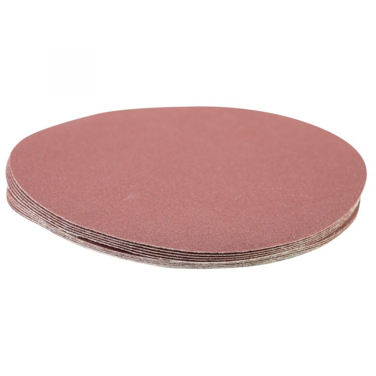 Шлифовальный круг без отверстий Ø150мм P180 (10шт) Sigma (9121391) - 3
