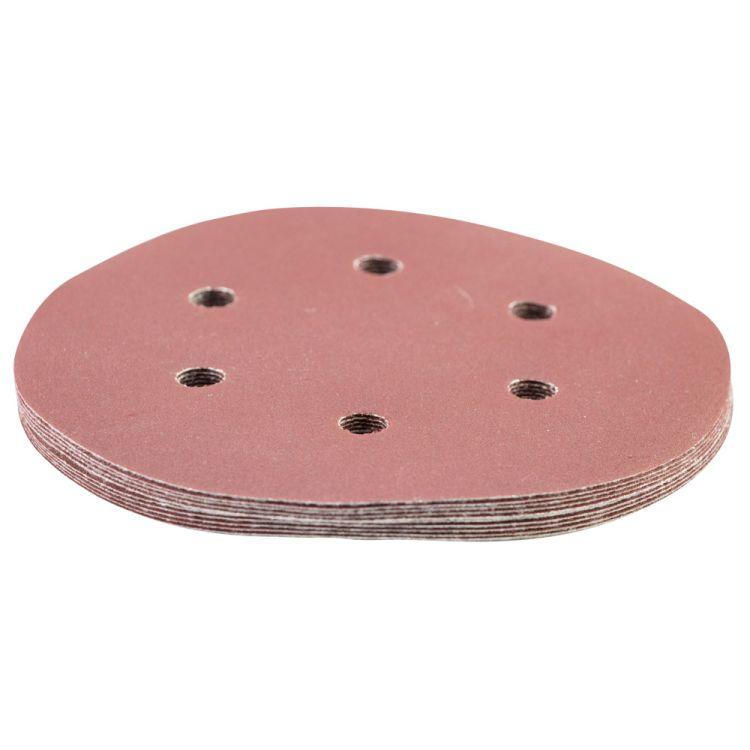Шлифовальный круг 6 отверстий Ø150мм P240 (10шт) Sigma (9122311) - 3
