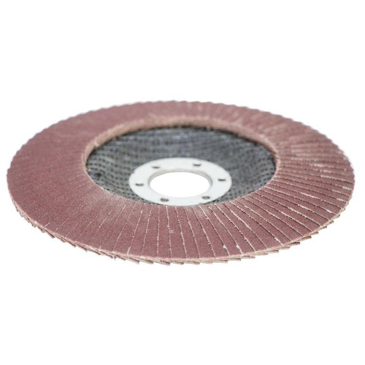 Круг лепестковый торцевой Т29 (конический) Ø125мм P180 Sigma (9172681) - 3