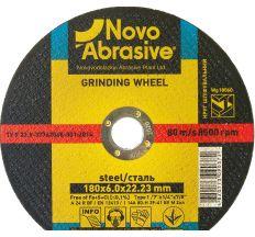 Круг Novoabrasive шліфувальний ф180*6 WG18060