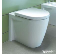 STARCK 2 унітаз підлоговий 37*72,5 см для Senso Wash