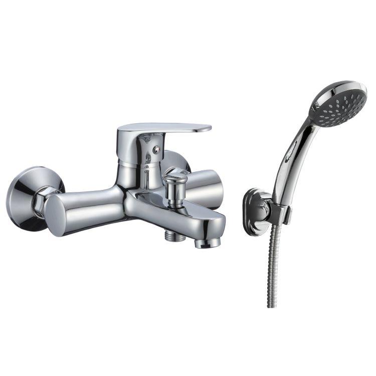 BUTTERFLY смеситель для ванны однорычажный, хром 35 мм - 1