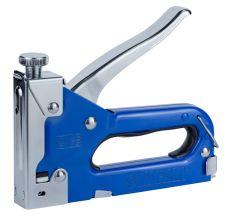 Степлер з регулятором для скоб 4-14мм (синій) Sigma (2821011)