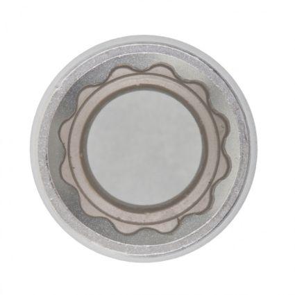 Головка торцева, 14 мм, 12-гранна, CrV, хромована MTX MASTER 136889 - 2