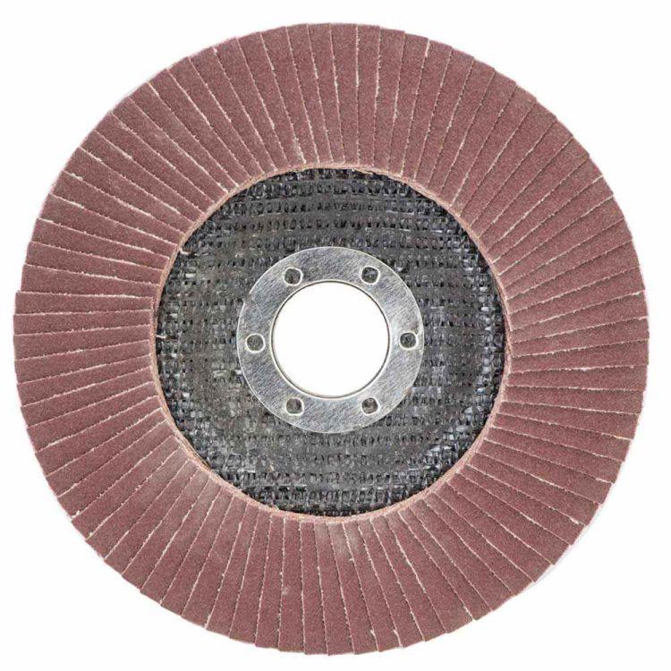 Круг лепестковый торцевой Т29 (конический) Ø125мм P180 Sigma (9172681) - 1