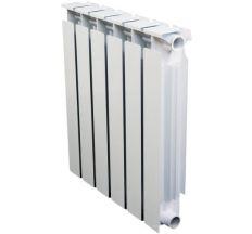 Радіатор біметалевий АЛТЕРМО 7 потужність 1 секції 185 Вт 500/96 (1,68кг)