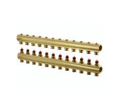 Колектор без витратомірів Danfoss FHF 12 виходів (088U0512)