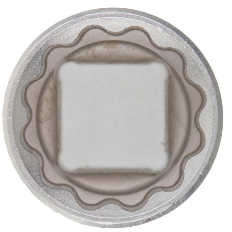 Головка торцева, 19 мм, 12-гранна, CrV, хромована MTX MASTER 136919 - 2