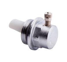"""Заглушка радіаторна Icma 1"""" з відводом повітря (права) №716"""