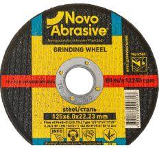 Круг Novoabrasive шлифовальный ф125*6 WG12560