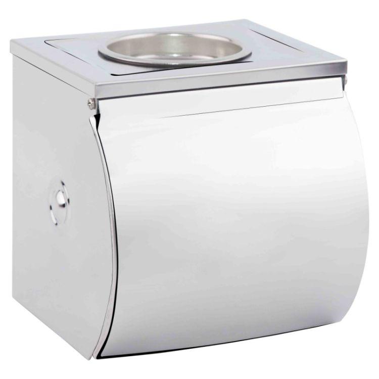 Держатель для туалетной бумаги с крышкой Potato P300 - 1