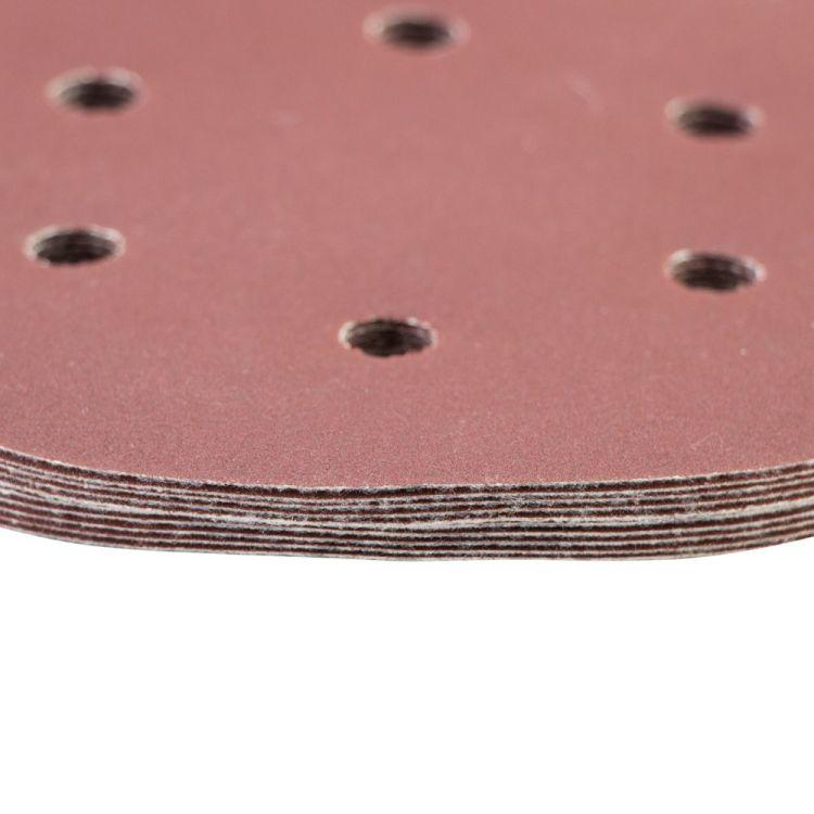 Шлифовальный круг 6 отверстий Ø150мм P240 (10шт) Sigma (9122311) - 4
