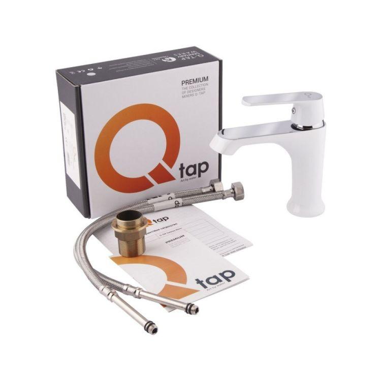 Змішувач для умивальника Q-tap Fresh 001F WCR - 6