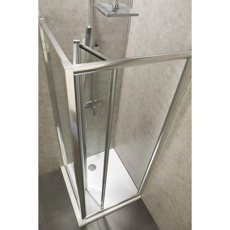 Боковая стенка 90*195 см, для комплектации с дверьми bifold 599-163 (h) - 3
