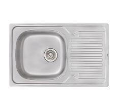Кухонна мийка Qtap 7850 Satin 0,8 мм (QT7850SAT08)