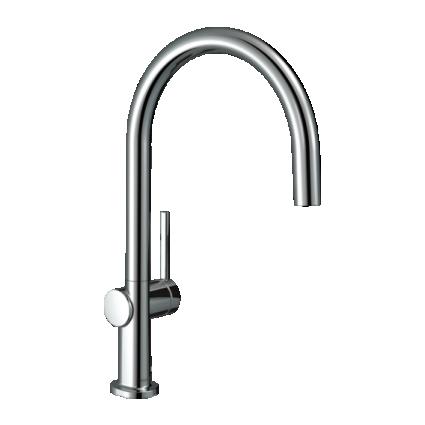 TALIS M54 220 змішувач для кухні одноважільний, 1jet, колір покриття сталь - 1