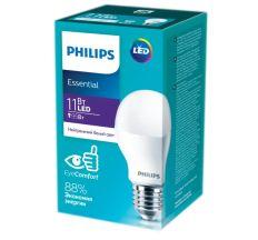Лампа LED 11W E27 (3шт) 4000K Bulb RCA HO А-60 Multipak * 3 Philips