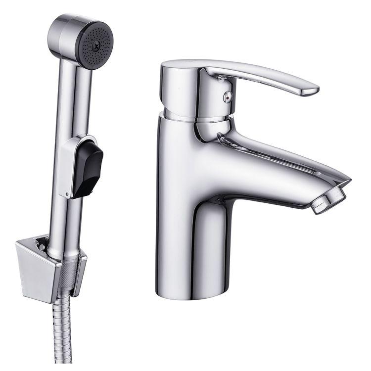 HORAK набір для біде (змішувач + гігієніч душ з держателем + шланг 1,5 м) - 1