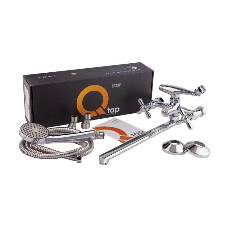 Смеситель для ванны Q-tap Dominox CRM 140 - 4