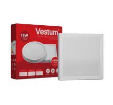 Світильник LED накладної квадратний Vestum 18W 4000K 220V
