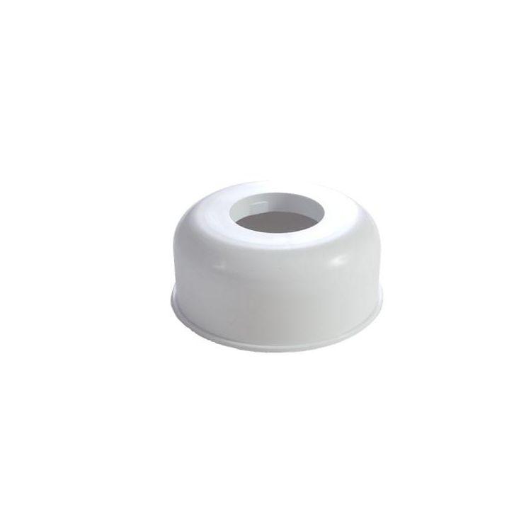 STY-067-110 Чашка декоративна ф110 біла Styron для труби - 1