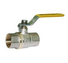"""Кран кульовий газовий SANTAN 2"""" Premium ручка внутрішня/внутрішня"""
