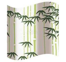 Шторка для ванной, бамбук 2100568