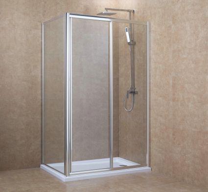 Боковая стенка 90*195 см, для комплектации с дверьми 599-153 (h) - 2