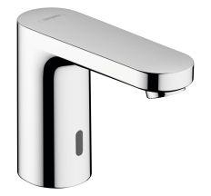 VERNIS BLEND электронный смеситель для умывальника для холодной воды или предварительно настроенной работы от батареи, хром