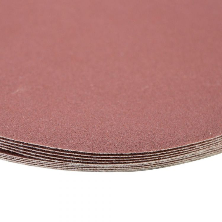 Шлифовальный круг без отверстий Ø150мм P180 (10шт) Sigma (9121391) - 4