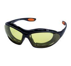 Набір окуляри захисні з обтюратором і змінними дужками Super Zoom anti-scratch, anti-fog (бурштин) Sigma (9410921)