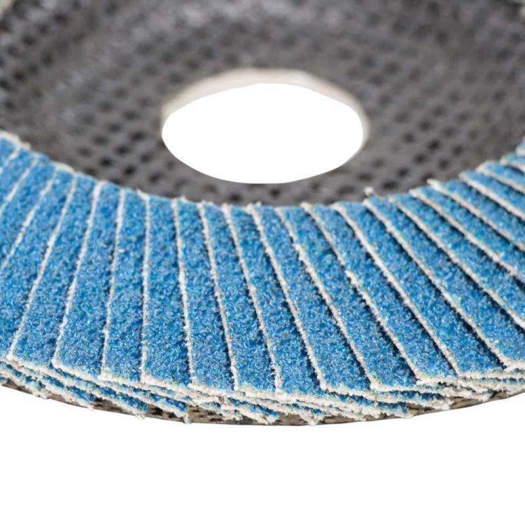 Круг лепестковый торцевой Т29 (конический) ZA Ø125мм P60 Sigma (9173531) - 4