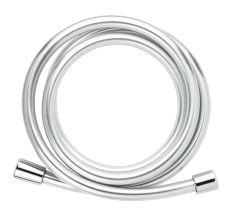 """Шланг для душу 1/2"""" ПВХ 3-х шаровий з підшипником сріблястий 175см CORSO XB-0136 (9691612)"""