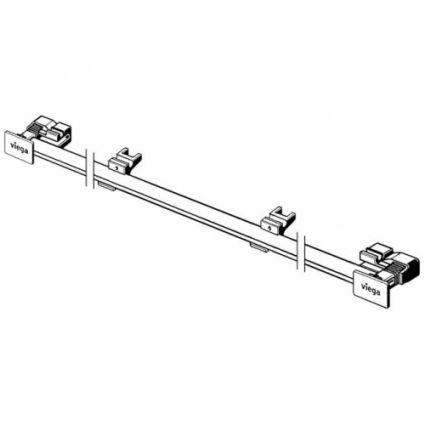 Дизайн-вставка Advantix Wall drain Vario, глянцева (736576) - 2