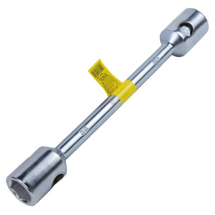 Ключ балонный усиленный 32×33×400мм CrV satine Sigma (6032161) - 1