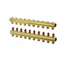 Колектор без витратомірів Danfoss FHF 10 виходів (088U0510)