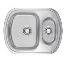 Кухонна мийка ULA 7703 U dekor з доп чашею (ULA7703DEC08)