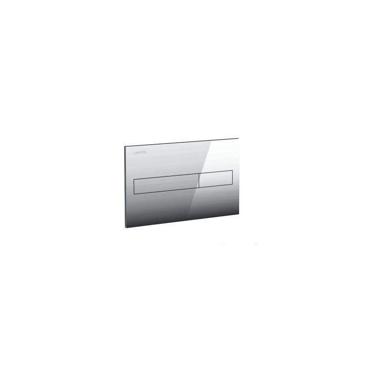 LIS клавіша змиву для системи подвійного змиву, матовий хром - 1