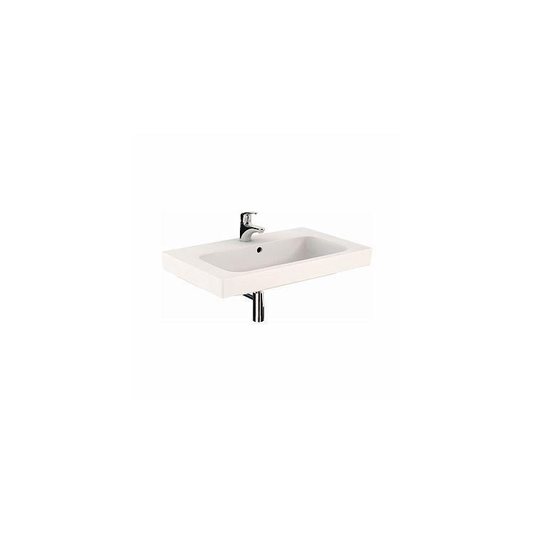 MODO умывальник с отверстием,с переливом 80*48,5 см (пол.) - 1