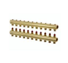 Колектор без витратомірів Danfoss FHF 11 виходів (088U0511)