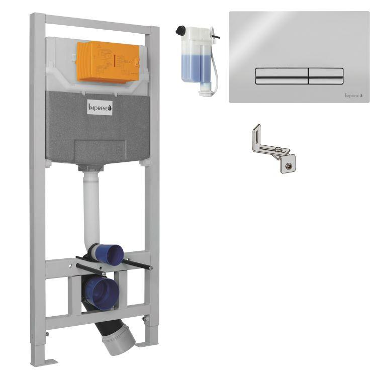 IMPRESE Комплект інсталяції 3в1(PANI хром) (OLIpure) - 1
