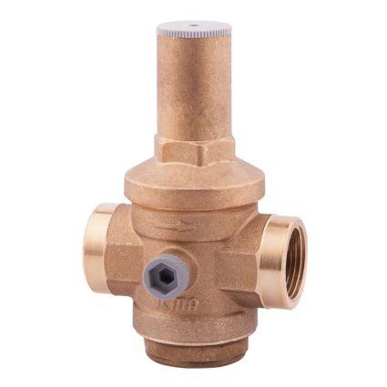 """246 Редуктор тиску води 3/4"""" ІСМА (тиск на вході 25 бар/на виході 1-6) - 1"""
